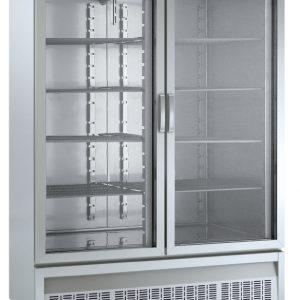 armario frigorífico 2 puertas acero inoxidable