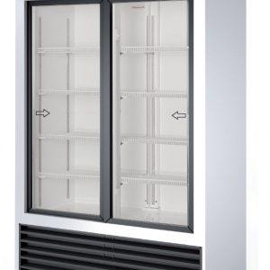 armario frigorífico 2 puertas cristal 02