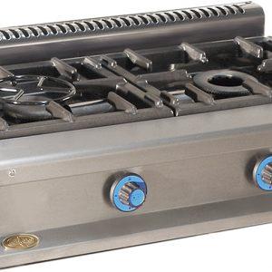 cocina de gas industrial serie550 602sm