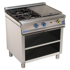 cocina de gas industrial serie750 802ep