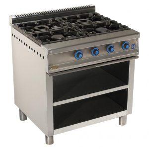cocina de gas industrial serie750 804e