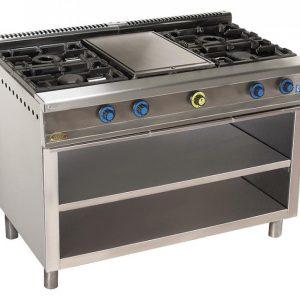 cocina de gas industrial serie750 814ep