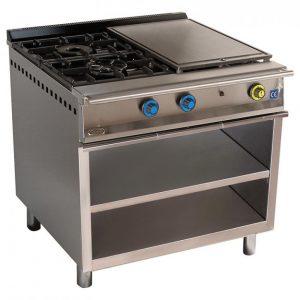 cocina de gas industrial serie900 902ep