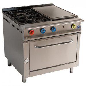 cocina de gas industrial serie900 902hp