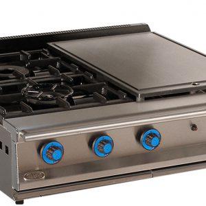 cocina de gas industrial serie900 902smp