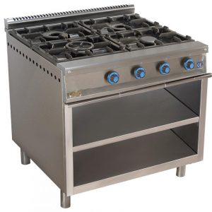 cocina de gas industrial serie900 904e