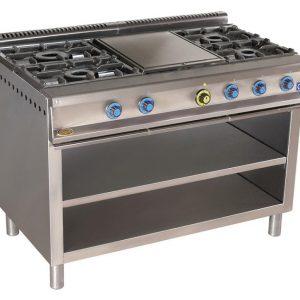 cocina de gas industrial serie900 914ep
