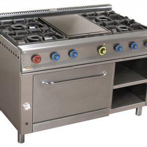 cocina de gas industrial serie900 914hp