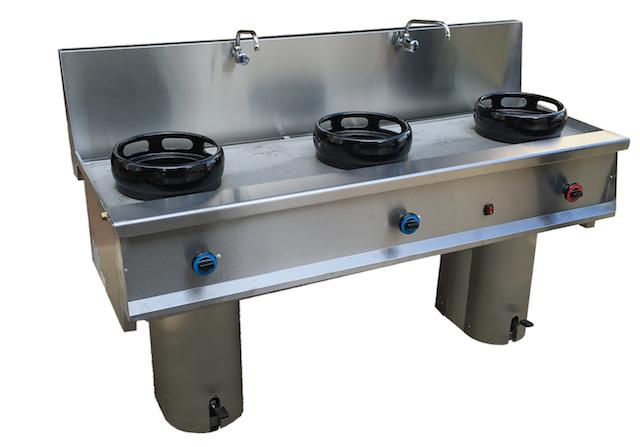 cocina wok de 3 fuegos 03 muebles y maquinaria hosteler a