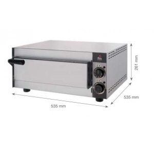 horno para pizza fm hp133