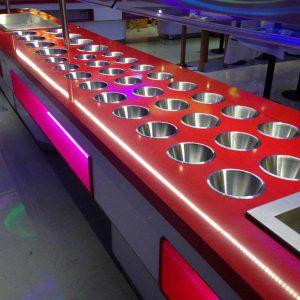 máquina de buffet 15