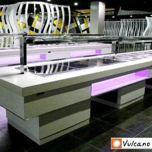 máquina de buffet mod2001