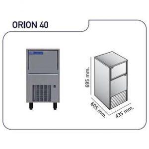 maquina de hielo orion40