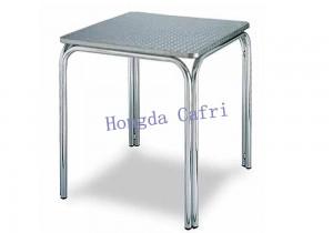 mesa de exterior acero inoxidable