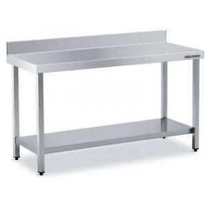 mesa de trabajo cocina estantería mural alta