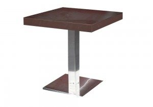 mesa para restaurante madera pequena