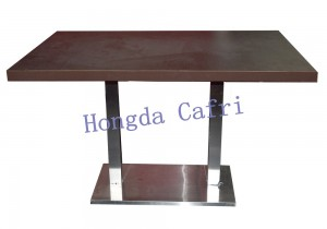 mesa para restaurante de madera
