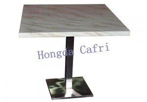 mesa para restaurante de mármol