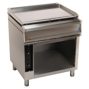 plancha de gas fry top 750f 800