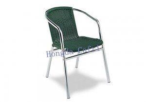 silla de terraza verde