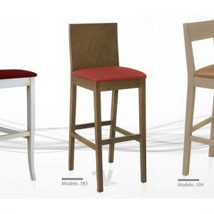 Silla para restaurante alta en distintos colores muebles y maquinaria hosteler a - Sillas restaurante segunda mano ...