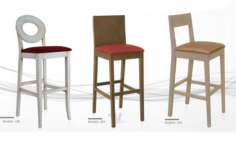 Silla para restaurante alta en distintos colores muebles - Silla para restaurante ...