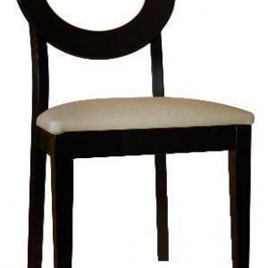 silla para restaurante madera circular