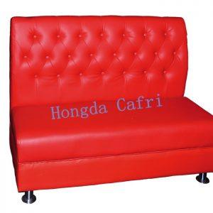 sofá para restaurante rojo 03
