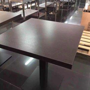 mesa para restaurante madera laminada