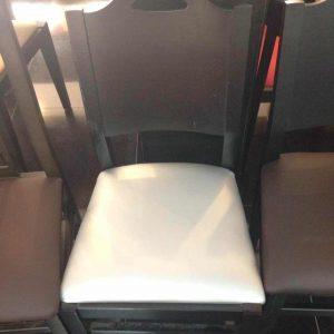 sillas para restaurante distintos tapizados