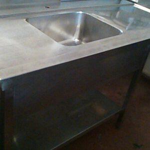 单槽水槽工作桌