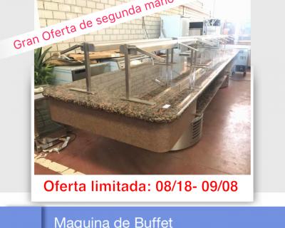 MAQUINA DE BUFFET