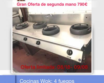 COCINA DE 4 FUEGOS