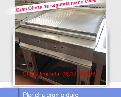 PLANCHA CROMO DURO 02