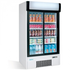 armario frigorifico 2 puertas cristal 03