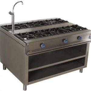 cocina de gas industrial central cc136e
