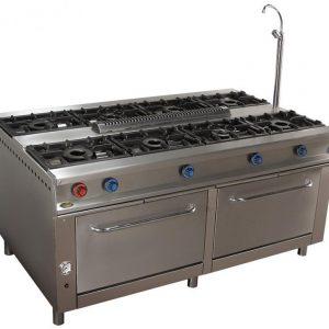 cocina de gas industrial central cc188