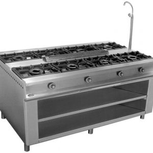 cocina de gas industrial central cc188e