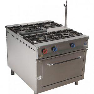 cocina de gas industrial central cc94