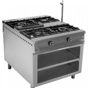 cocina de gas industrial central cc94e