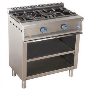 cocina de gas industrial serie550 602e