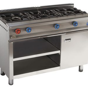 cocina de gas industrial serie550 613e