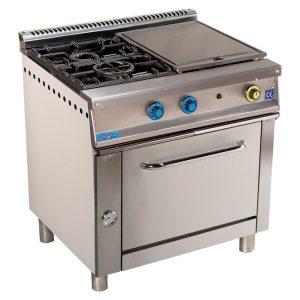 cocina de gas industrial serie750 802hp