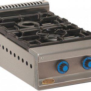 cocina de gas industrial serie750 802sm