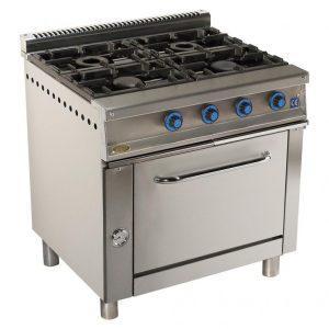 cocina de gas industrial serie750 804h