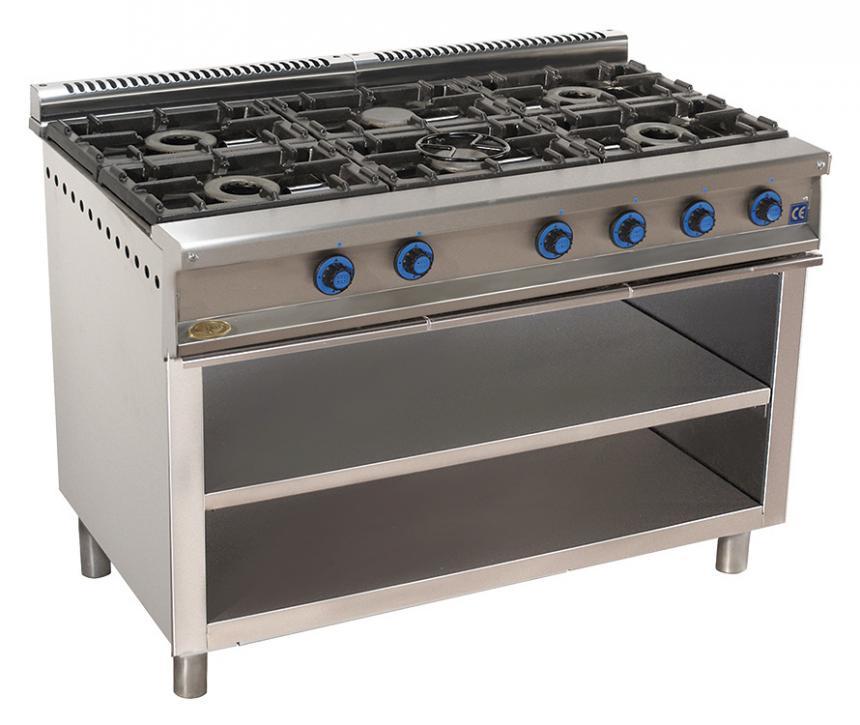 cocina de gas industrial serie750 816