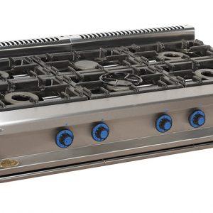 cocina de gas industrial serie750 816sm