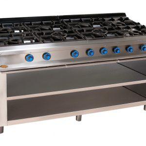 cocina de gas industrial serie750 828e