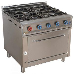 cocina de gas industrial serie900 904h