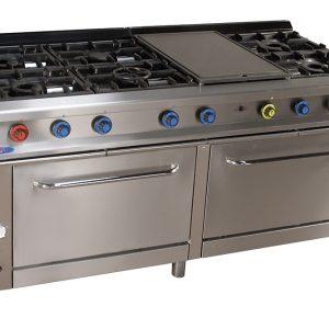 cocina de gas industrial serie900 916hp